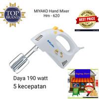 Miyako Hand Mixer peralatan dapur peralatan masak perlengkapan dapur