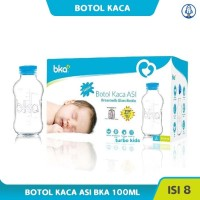 Botol ASI Kaca BKA isi 8