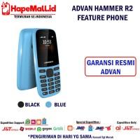 ADVAN HAMMER R2 FEATURE PHONE GARANSI RESMI ADVAN INDONESIA TERMURAH