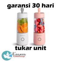 VITAMER BLENDER PORTABLE 350 ml JUICER CUP MINI RECHARGEABLE