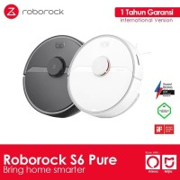 Xiaomi Roborock S6 PURE Vacuum Cleaner & Pel Global Version
