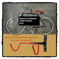 Gantungan Sepeda DInding / Bike Wall Hook Hanger