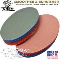 Tiger USA Shaft Smoother & Burnisher - Cue Tool Alat Stick Billiard US
