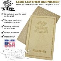 Tiger USA LEDR Leather Shaft Burnisher - Cue Tool Alat Stick Billiard