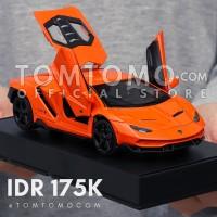 Lamborghini Centenario M Tomtomo Diecast Miniatur Mobil Kado Cowok