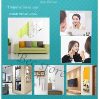 [UNIK] Stiker Cermin Tempel Wallpaper Kaca Dinding Kamar Mandi