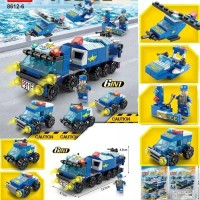 Lego Police series city police 147pcs building blocks puzlle toys