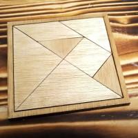 P01 Natural Mini Tangram Mainan Puzzle
