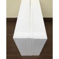 Styrofoam Lembaran 100 x 50 x 3cm HARD D20 Lembaran Foam