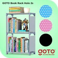Goto Holo Rak Buku Serbaguna Portable Lemari Multifungsi