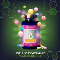 Wellness Natural Vitamin E 400iu Water Soluble (60) 1 BOTOL