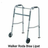 Walker Roda /alat bantu jalan /tongkat Roda kaki 4 /Tongkat jamuran