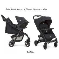 Joie Meet Muze Travel System Universal Black / Stroller / Kereta Bayi