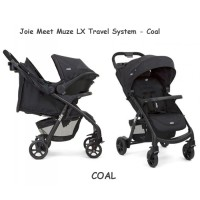 Joie Meet Muze LX Travel System / Stroller + Car Seat / Kereta Bayi