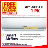 Sansui AC Air Conditioner 1 PK L-09-S1 (FREE ONGKIR)