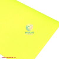 Kertas Karton Asturo Warna Kuning Muda Neon (60 x 40 cm) Scotlite