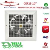 """MASPION EXHAUST FAN 10 INCH CEF 25 (10"""") PLAFON CEILING / HEXOS CEF25"""