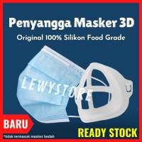 Penyangga Masker 3D Mask Braket Silicon sirkulasi udara