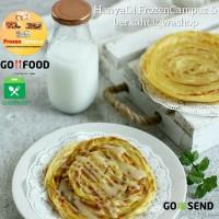 Roti Maryam Cane Canai Original/Coklat/Keju Per Pak Maryam Frozen Food