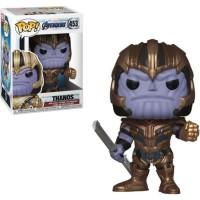 PROMO Action Figure Funko Pop Thanos Marvel Avengers End game Original