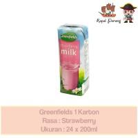 Greenfields UHT 1 Karton [24 x 200ml] - Strawberry