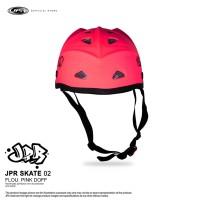 JPR SKATE 02 - FLUORESCENT PINK DOFF/BLACK