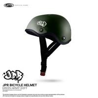 JPR SKATE 01 SOLID - GREEN ARMY DOFF/WHITE