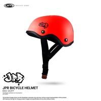 JPR SKATE 01 SOLID - FLUORESCENT RED DOFF/BLACK