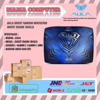 Aula Ghost Gaming Mousepad - Ghost Shark Shield
