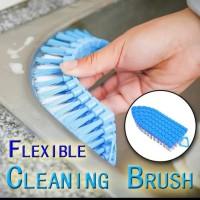 Flexible cleaning brush /sikat lengkung flexible serbaguna