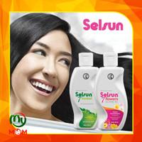 Shampoo Selsun 7 Herbal 120ml & Selsun 7 Flower 120ml / Shampo Selsun