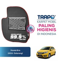 Karpet Mobil Honda Brio (2016-Sekarang) Trapo Indonesia Fullset