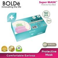 BOLDe Protective Mask 3 ply (50 box isi 50 pcs/box)