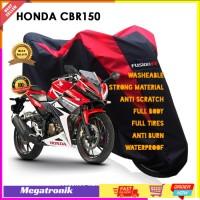 Sarung/Selimut/Body Cover/Mantel Tutup Motor Warna Fusion CBR 150 250