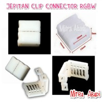 Klip / Clip Connector / Konektor Jepit for LED Strip RGBW 5 PIN