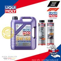 [Paket Ganti Oli Mobil] High Tech+Engine Flush Plus+Oil Additive
