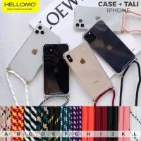 Sling Case iPhone Casing Gantungan Lanyard Tali Case Hp Gigi iPhone