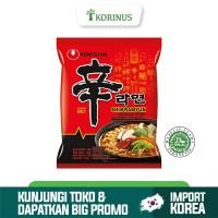 Nongshim Shin Ramyun 120gr / Shin Ramyun Spicy Noodle Soup