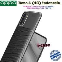 Carbon New Style Case Oppo Reno 4 - Casing Cover Oppo Reno 4 Pro Reno4