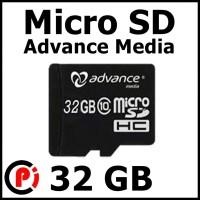 Advance Media Micro SD Card SDHC 32 GB 32GB