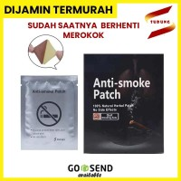KOYO BERHENTI MEROKOK ANTI SMOKE PATCH - STOP SMOKING TERAPI 5 pcs