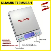 Timbangan Dapur Mini Digital Platform Scale 3 kg