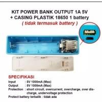 DIY Power Bank Candy 1A 5V 1 Slot 18650 Charger 18650 1 slot