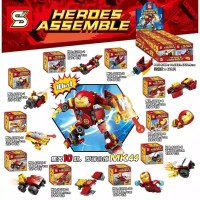 Lego Ironman Avengers minifigure 10 in 1