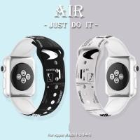 NIKE AIR JORDAN strap apple watch rubber iwatch 2 4 3 silicon sport 5