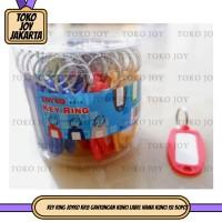 Key Ring JOYKO KR8 gantungan kunci Label Nama Kunci isi 50pcs