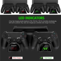 PS4 ALL SERIES Dobe Multifunctional Cooling Stand LED Monitor charging