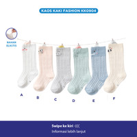 Kaos Kaki Panjang Anak / High Knee Socks / Kaos Kaki Lucu / Kids Socks
