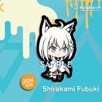 Keychain Hololive Japan Shirakami Fubuki