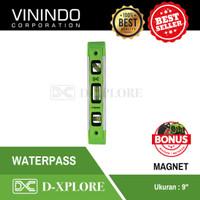 """WATERPASS MAGNET ALUMINIUM MINI D-XPLORE 9"""" (22.5 CM)"""